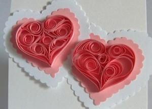 валентинка своими руками