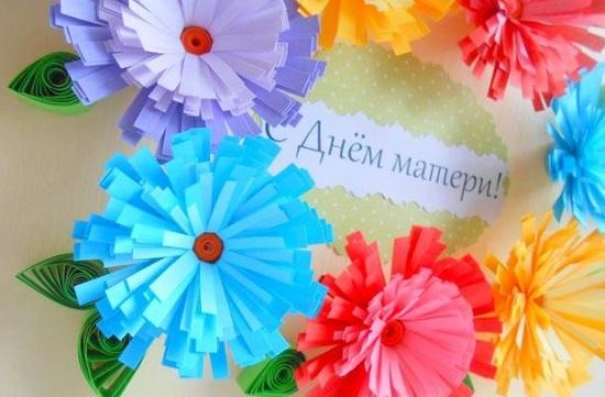 Поделка на 8 марта своими руками цветы