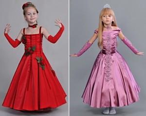 Платья детские для бала фото