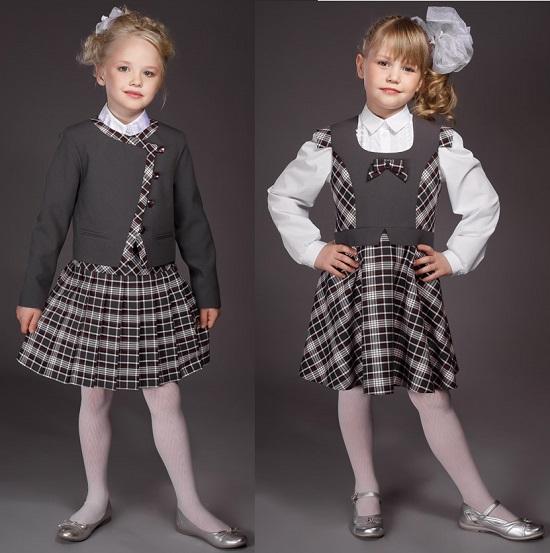 модная школьная форма
