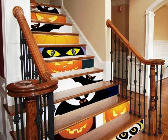 как украсить дом на Хэллоуин, украшение дома на Хэллоуин, украшения к хэллоуину