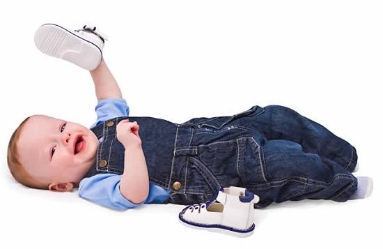 первая обувь для ребенка