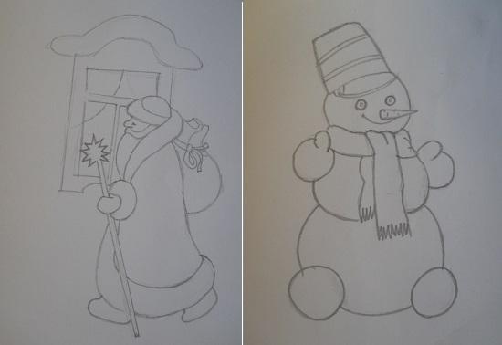 как сделать новогоднюю открытку своими руками