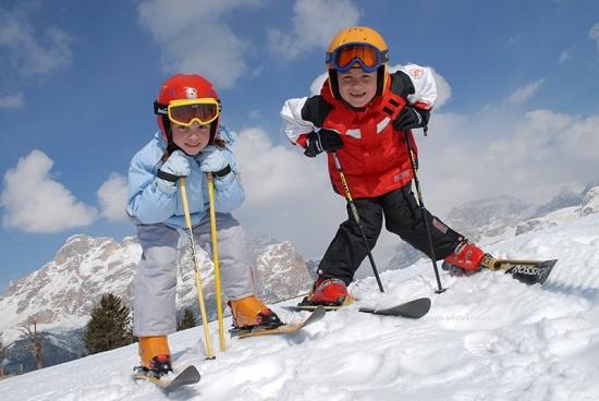лыжи для детей