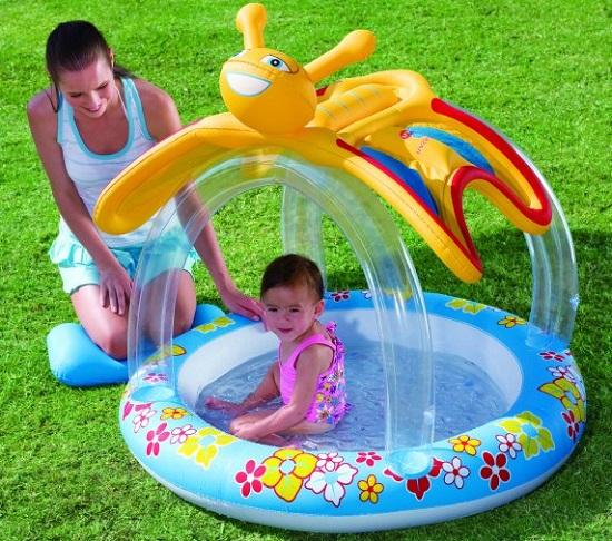 детские надувные бассейны для дачи