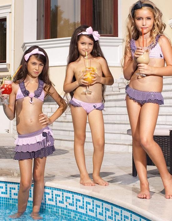 детские купальники для девочек (фото)