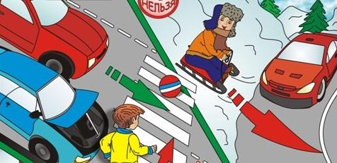 Применение на практике знаний правил дорожного движения