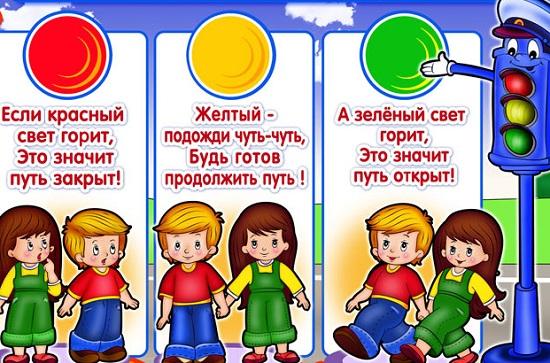 Рисунки своими руками дорожных правила для детей