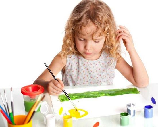 как научить ребенка рисовать