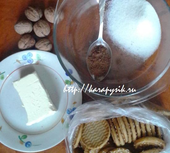 рецепт пирожного картошка в домашних условиях