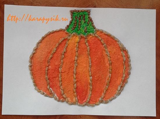 Картинки из круп осень