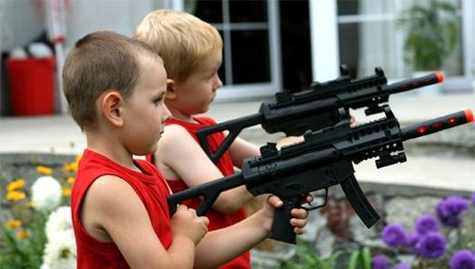 игрушечное оружие для детей