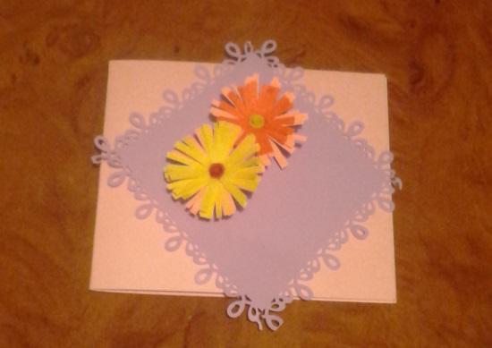 открытка для мамы своими руками из бумаги