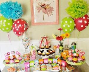 Украшаем квартиру ко дню рождения ребенка