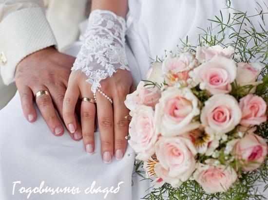 название годовщин свадеб