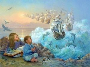 как развить воображение у ребенка