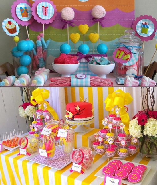 кенди бар на детский день рождения