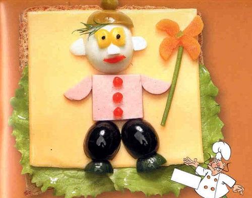 бутерброды для детей