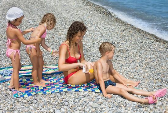 солнцезащитный крем для детей