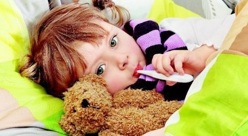 грипп у детей