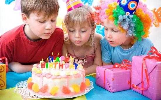 детский день рождения дома