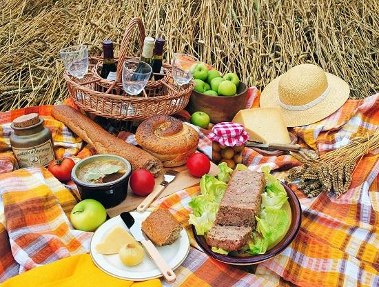пикник на природе