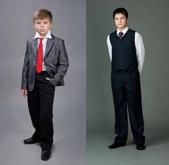 брюки для мальчиков школьные