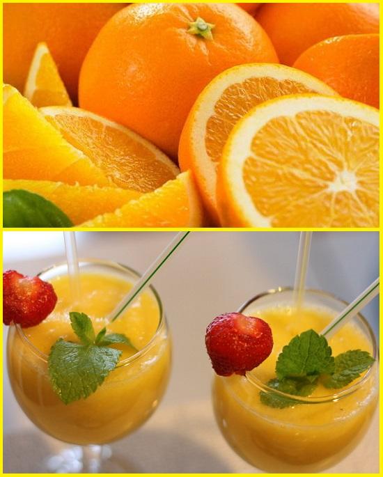 смузи из апельсинов