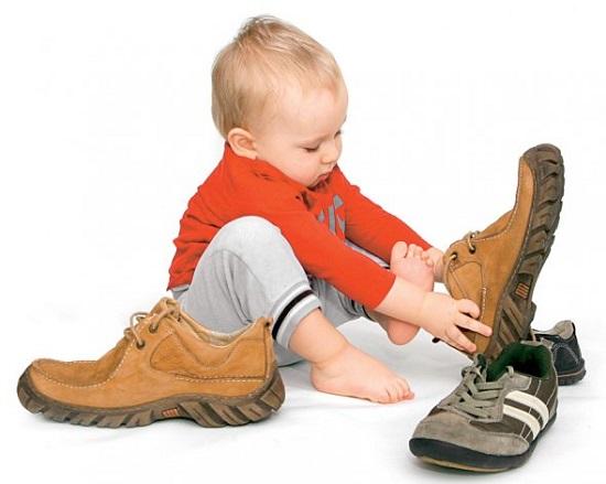 детские летние туфли