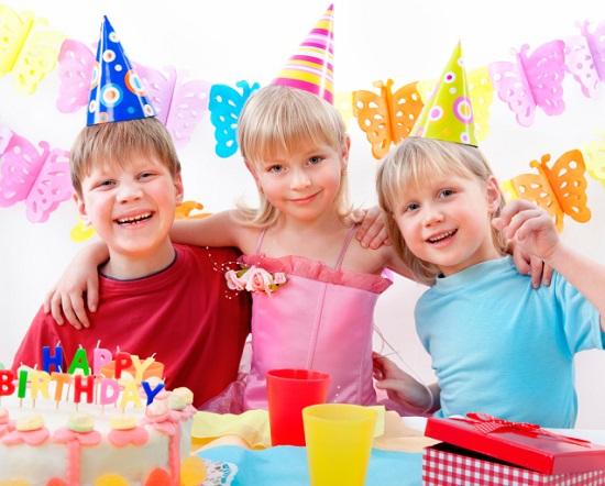 летний день рождения ребенка