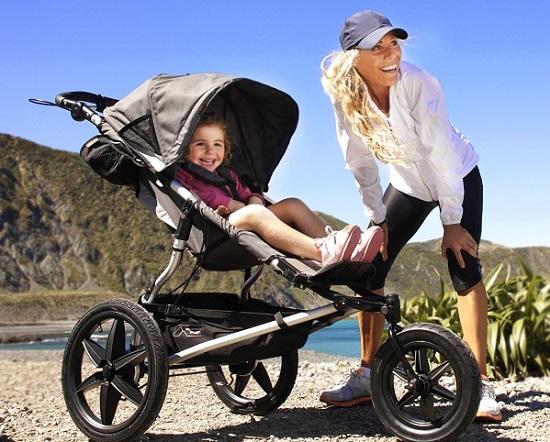 трехколесные коляски для новорожденных