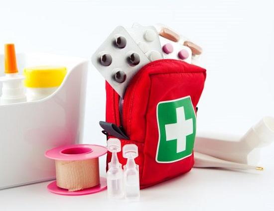 аптечка в дорогу с ребенком