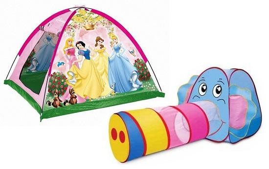 детские игровые палатки-домики