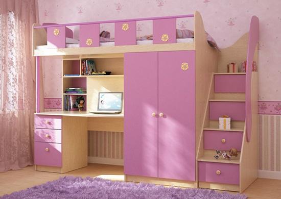 детская мебель кровать чердак
