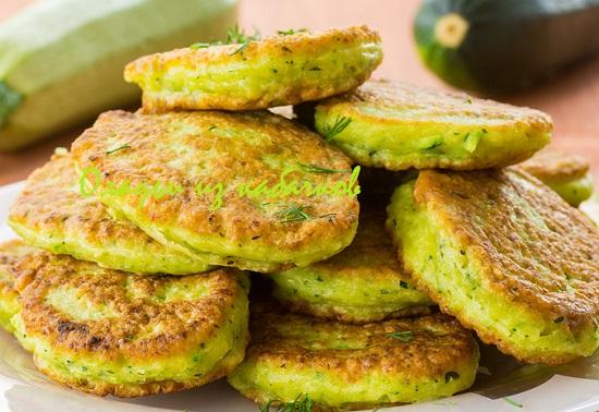 блюда из кабачков рецепты
