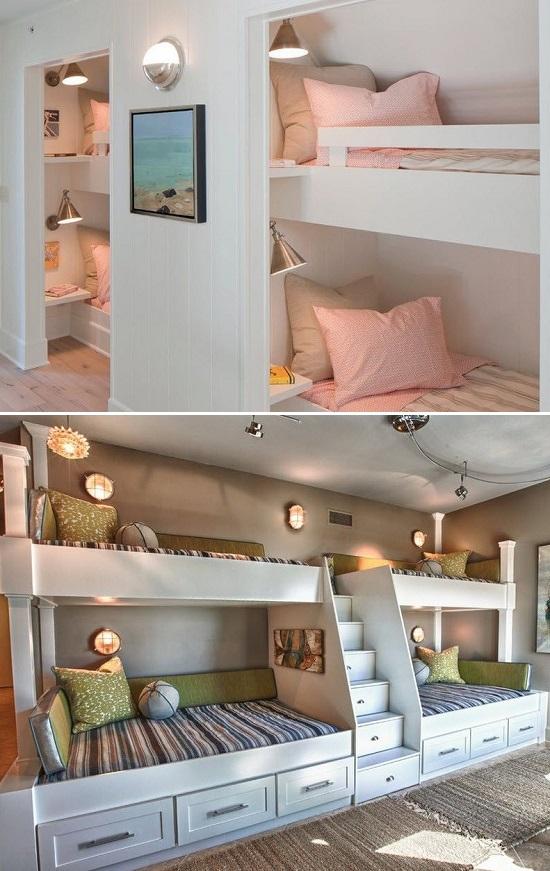 дизайн детской комнаты на двоих детей