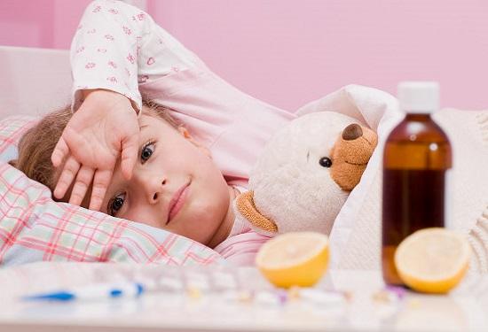 грипп у ребёнка симптомы и лечение