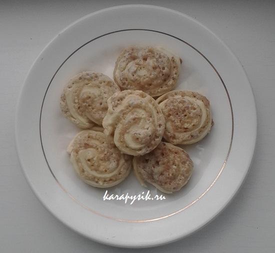 ореховое печенье рецепт с фото