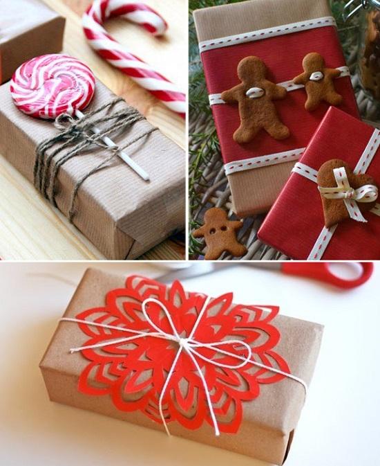 Как упаковать новогодний подарок: 45 красивых идей