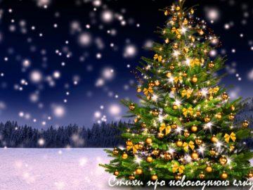 стихи про новогоднюю елку