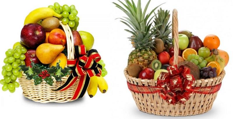 подарочные продуктовые корзины