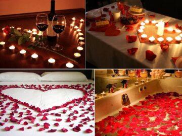 как устроить романтический вечер дома