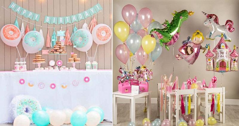 как украсить комнату на день рождения ребенка 1 год