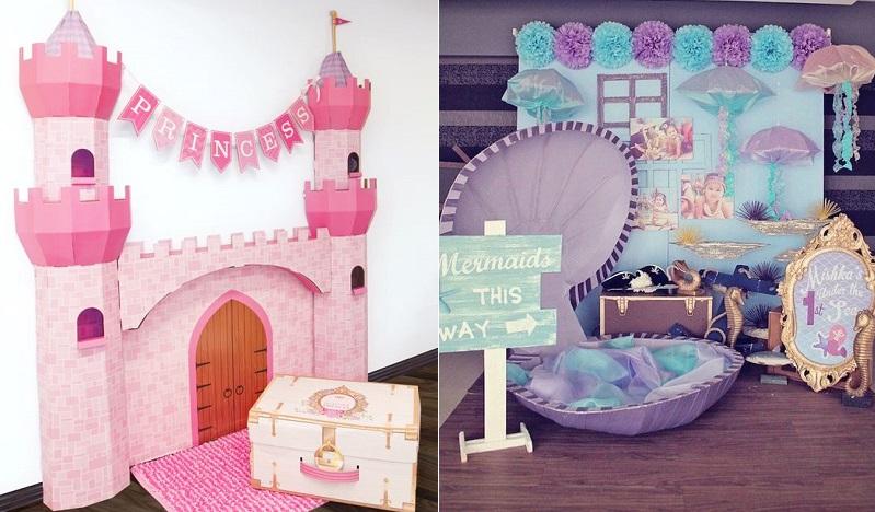 как украсить комнату на первый день рождения ребенка