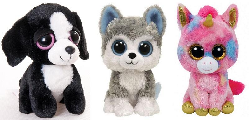 мягкие игрушки с большими глазами