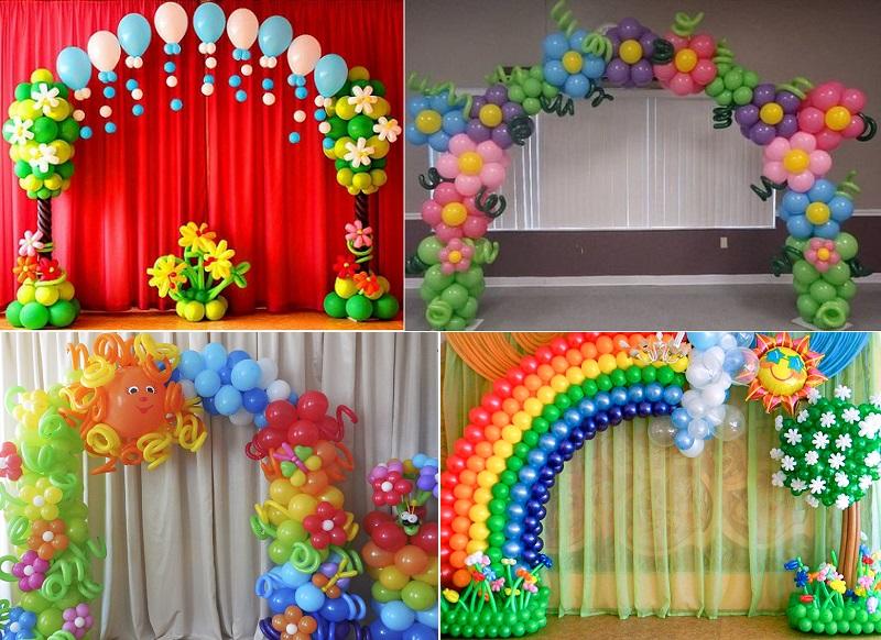 как украсить зал на выпускной в детском саду