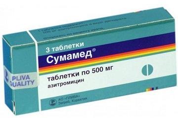 какие антибиотики принимать при ангине