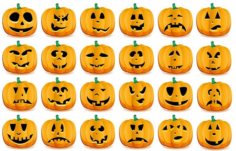 тыква на Хэллоуин своими руками фото