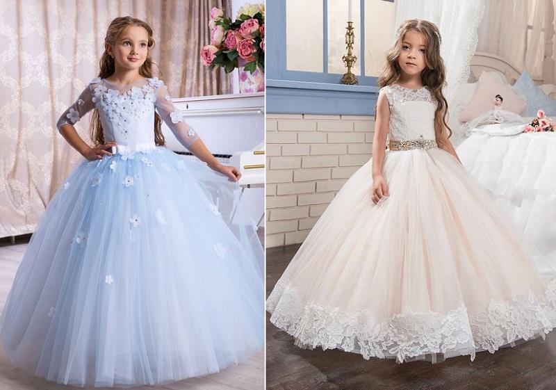 нарядные платья на выпускной в детский сад