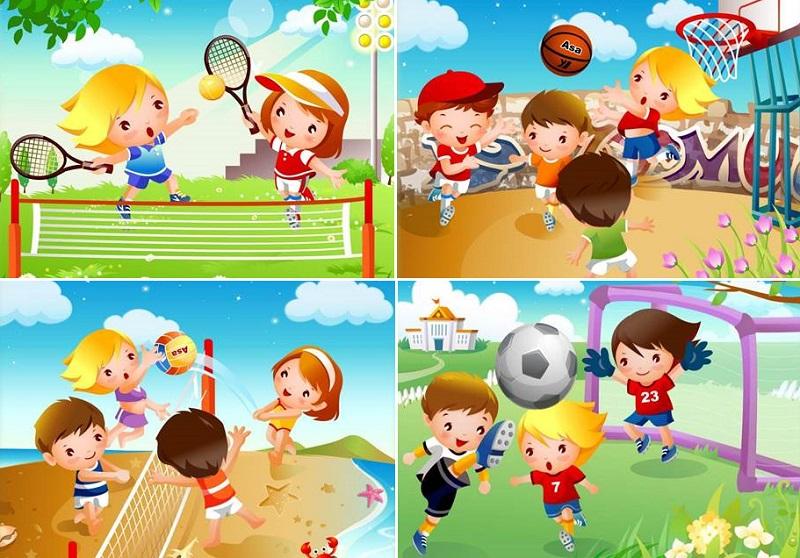 подвижные игры для улицы для детей